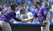 Colorado Rockies v Kansas City Royals - 24 Aug 2017