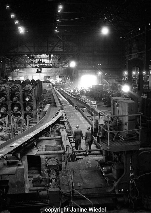 Shelton Bar Iron and Steel Works  in Stoke on Trent in the 1978 just before it was closed down with loss of 2,500 jobs