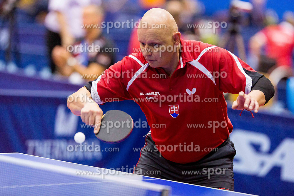 JAMBOR Miroslav during day 2 of 15th EPINT tournament - European Table Tennis Championships for the Disabled 2017, at Arena Tri Lilije, Lasko, Slovenia, on September 29, 2017. Photo by Ziga Zupan / Sportida
