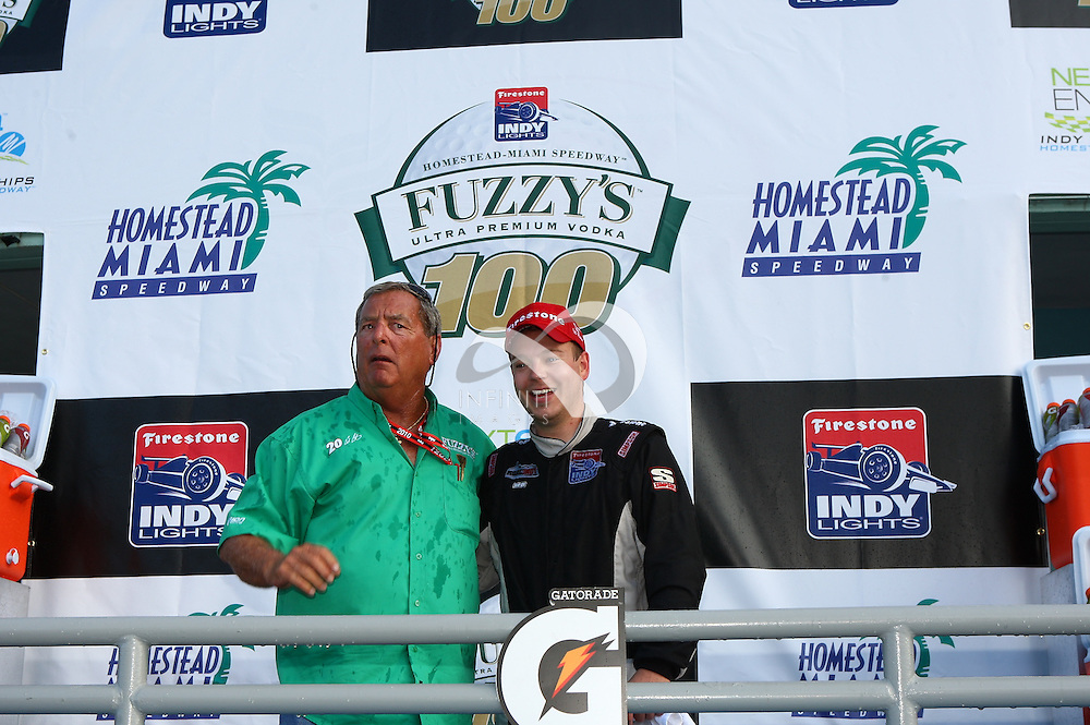 OCTOBER 2: Fuzzy's at Homestead-Miami Speedway