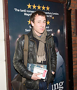 Guest arrivals for the National Theatre's  transfer of Beginning, a new play by David Eldridge directed by Polly Findlay<br /> At the Ambassadors Theatre, London, Great Britain <br /> 23rd January 2018 <br /> <br /> <br /> Tobias Menzies attends the press night performance of 'Beginning' at the Ambassadors Theatre on January 23, 2018 in London, England.<br />  <br /> Photograph by Elliott Franks
