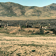 12 April 1976<br /> Kabul. Location: 8 km. north of Kabul o north side of the ridge behind the Kabul airport. The area is full of graveyards in which it is said lie those who fell in battle when the king of Persia, Nadir Khan Afshar, passed through in 1738, or, in 1842 fighting the British at the end of the First Anglo-Afghan War.