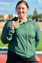 Paralympics Ireland Medalist Orla Barry, F57, IRE at the Berlin 2018 World Para Athletics European Championships