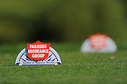 Farmers Insurance Open tee markers on the North Course at Torrey Pines on Jan. 25, 2012 in San Diego, California...©2012 Scott A. Miller