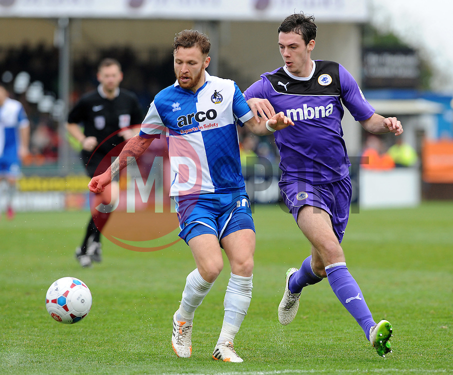 Bristol Rovers' Matty Taylor - Photo mandatory by-line: Neil Brookman/JMP - Mobile: 07966 386802 - 03/04/2015 - SPORT - Football - Bristol - Memorial Stadium - Bristol Rovers v Chester - Vanarama Football Conference