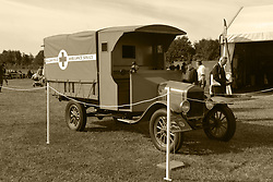 MOTOR MODEL T FORD, BELGIUM FIELD AMBULANCE, Centenary of Passchendaele 100 years, 1st August 2017