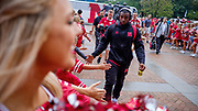 Lincoln, NE - Sept 15: wide receiver De'Mornay Pierson-El #15 of the Nebraska Cornhuskers before their game against the Illinois State Hiskies at Memorial Stadium in Lincoln Nebraska September 16, 2017. Photo by Eric Francis