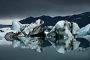 Jokulsarlon, Iceland by Thomas Campbell