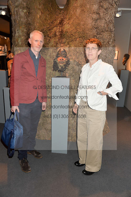 TOM HOPES and SOPHIE HICKS at the PAD London 10th Anniversary Collector's Preview, Berkeley Square, London on 3rd October 2016.