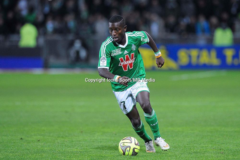 Allan SAINT MAXIMIN  - 21.12.2014 - Saint Etienne / Evian Thonon - 19eme journee de Ligue 1<br /> Photo : Jean Paul Thomas / Icon Sport