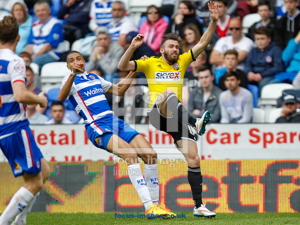 Stuart Dallas of Brentford during the Sky Bet Championship match between Reading and y of Brentford at the Madejski Stadium, Reading<br /> Picture by Mark D Fuller/Focus Images Ltd +44 7774 216216<br /> 25/04/2015