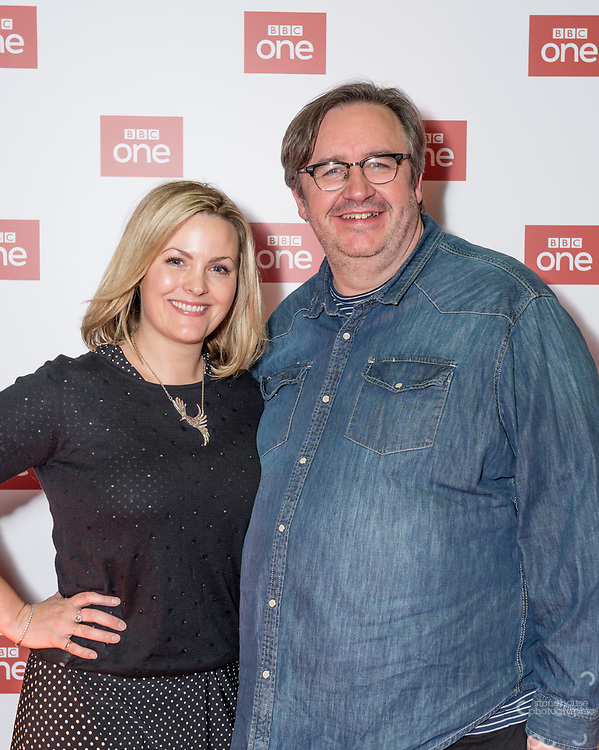 """Jo Joyner and Mark Benton stars of the<br /> brand new BBC Daytime drama Shakespeare & Hathaway – Private Investigators, is due to hit TV screens late February, 150 lucky people got the chance to view a private screening of the first episode.<br /> On Friday 9 February, The Other Place in Stratford-upon-Avon, an actual location featured in the drama, the venue to held the screening and, a special question and answer session hosted by Midlands Today presenter Rebecca Wood. She was joined by Jo Joyner, Mark Benton, Patrick Walshe McBride and the show's producer Ella Kelly.<br /> The ten-part drama from BBC Studios, created by Paul Matthew Thompson and Jude Tindall, will see Frank Hathaway (Benton), a hardboiled private investigator, and his rookie sidekick Luella Shakespeare (Joyner), form the unlikeliest of partnerships as they investigate the secrets of rural Warwickshire's residents.<br /> Beneath the picturesque charm lies a hotbed of mystery and intrigue: extramarital affairs, celebrity stalkers, missing police informants, care home saboteurs, rural rednecks and murderous magicians. They disagree on almost everything, yet somehow, together, they make a surprisingly effective team – although they would never admit it.<br /> Will Trotter, head of BBC Daytime Drama at the BBC Drama Village, comments, """"For years we have been producing quality drama at the BBC Drama Village, and Shakespeare & Hathaway is no different. It's the perfect programme to indulge in, and like many of the programmes that we make in Birmingham, we've been out and about in the county to film in some of the best locations the Midlands has to offer. <br /> """"We're looking forward to seeing the audience reactions to the first episode, it's got a whodunit storyline with a brilliant introduction to the main characters, but leaves you with some questions which makes the audience want to come back for more!"""" <br /> Notes to editors<br /> For more information on the series you can contact hollie.druce@bb"""