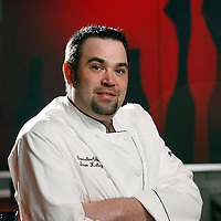 Executive Chef Sean Kelley is seen pictured in the Temper Grille in Mishawaka.<br />