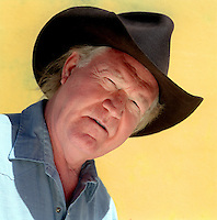 Billy Joe Shaver photographed in Waco, Texas.