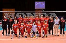 20150619 NED: World League Nederland - Portugal, Groningen<br /> De Nederlandse volleyballers hebben in de World League ook hun eerste duel met Portugal met 3-0 gewonnen / Portugal