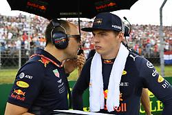 July 29, 2018 - Budapest, Hungary - Motorsports: FIA Formula One World Championship 2018, Grand Prix of Hungary, .#33 Max Verstappen (NLD, Aston Martin Red Bull Racing) (Credit Image: © Hoch Zwei via ZUMA Wire)