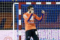 Joie Arnaud Siffert - 05.03.2015 - Montpellier / Cesson Rennes - 17eme journee de Division 1<br />Photo : Andre Delon / Icon Sport