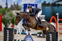 Philippaerts Thibault, BEL, Lucky Luke de Goedereede<br /> JIM Maastricht 2019<br /> Van Mossel Prix<br /> © Dirk Caremans<br />  09/11/2019