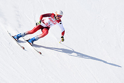 PFYL Thomas LW9-2 SUI competing in the Para Alpine Skiing Downhill at the PyeongChang2018 Winter Paralympic Games, South Korea