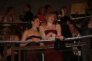 CAROLINE GUEST AND OLIVIA DAWNAY, The Royal Caledonian charity Ball 2006.Grosvenor House. London. 5 May 2006. . ONE TIME USE ONLY - DO NOT ARCHIVE  © Copyright Photograph by Dafydd Jones 66 Stockwell Park Rd. London SW9 0DA Tel 020 7733 0108 www.dafjones.com