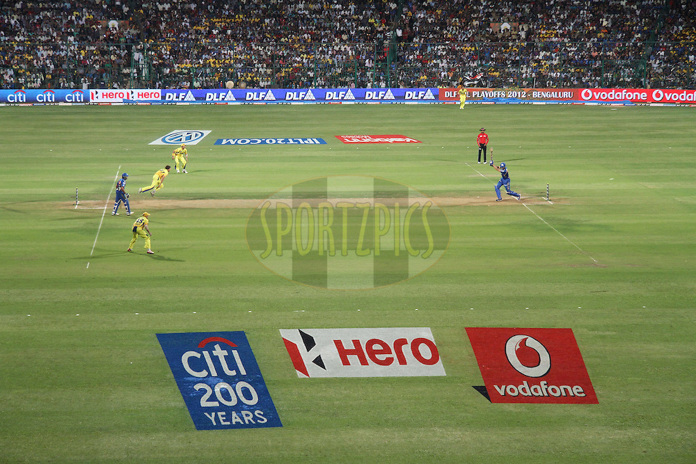 GV during The IPL 2012, Season 5, eliminator match between The Mumbai Indians and The Chennai Superkings held at the M. Chinnaswamy Stadium, Bengaluru on the 23rd May 2012..Photo by Shaun Roy/IPL/SPORTZPICS