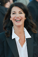 Zabou Breitman attends the red carpet during the 41st Deauville American Film Festival on September 6, 2015 in Deauville, France