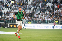 October 20, 2018 - Turin, Piedmont, Italy - Leonardo Bonucci of Juventus during the Serie A match between Juventus and Genoa at the Allianz Stadium, the final score was 1-1 in Turin, Italy on 20 October 2018. (Credit Image: © Alberto Gandolfo/Pacific Press via ZUMA Wire)