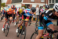 Amber van der Hulst (NED) at Healthy Ageing Tour 2019 - Stage 5, a 124.3 km road race in Midwolda, Netherlands on April 14, 2019. Photo by Sean Robinson/velofocus.com