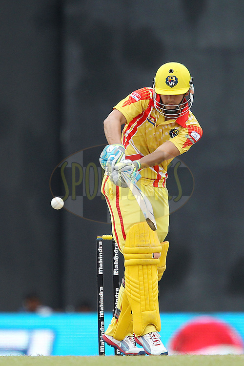 Rillee Rossouw during match 17 of the Sri Lankan Premier League between Basnahira Cricket Dundee and Ruhuna Royals held at the Premadasa Stadium in Colombo, Sri Lanka on the 25th August 2012. .Photo by Ron Gaunt/SPORTZPICS/SLPL