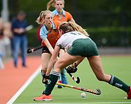GRONINGEN - Play outs Finals<br /> Groningen - Rotterdam (women)<br /> Foto: Fieke Hoff <br /> WORLDSPORTPICS COPYRIGHT FRANK UIJLENBROEK