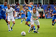 Bolton Wanderers forward Adam Le Fondre (9) during the Pre-Season Friendly match between Peterborough United and Bolton Wanderers at London Road, Peterborough, England on 28 July 2018. Picture by Nigel Cole.