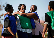 Its not just children and men who enjoy playing football. A group of gogo's, Zulu for Grandmothers get together twice a week to train and play in Alexandra township in Johannesburg..As well as being a source of exercise it helps to build a community where grandmothers are raising orphaned children as a result of the HIV/aids epidemic.