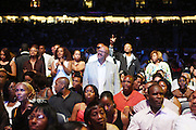 Audience at The 2009 Essence Music Festival held at The Superdome in New Orleans, Louisiana on July 5, 2009