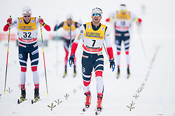 January 6, 2018 - Val Di Fiemme, ITALY - 180106 Hans Christer Holund of Norway competes in men's 15km mass start classic technique during Tour de Ski on January 6, 2018 in Val di Fiemme..Photo: Jon Olav Nesvold / BILDBYRÃ…N / kod JE / 160123 (Credit Image: © Jon Olav Nesvold/Bildbyran via ZUMA Wire)