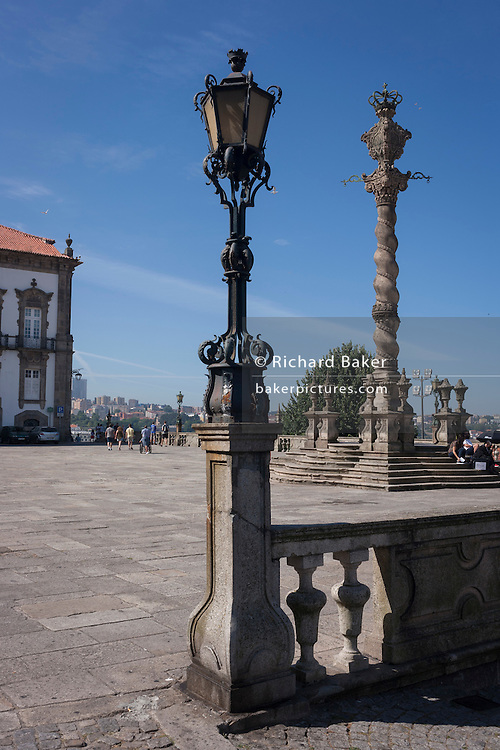 The Terreiro Da Se Monument in Porto, Portugal.