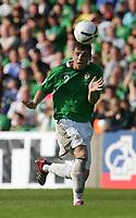 Photo: Andrew Unwin.<br />Northern Ireland v Iceland. European Championships 2008 Qualifying. 02/09/2006.<br />Northern Ireland's Chris Baird.