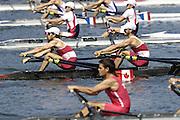 2006, U23 Rowing Championships,Hazewinkel, BELGIUM Saturday, 22.07.2006. Start, Men's Lightweight Double Sculls,  Photo  Peter Spurrier/Intersport Images email images@intersport-images.com..[Mandatory Credit Peter Spurrier/ Intersport Images] Rowing Course, Bloso, Hazewinkel. BELGUIM