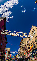 Little Italy, New York, New York USA.