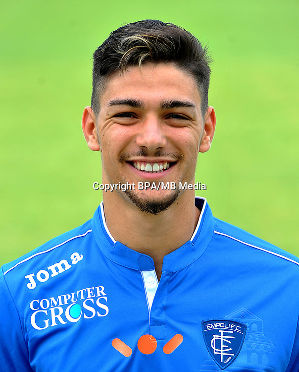 Italian League Serie A -2016-2017 / <br /> ( Empoli Fc ) - <br /> Federico Barba