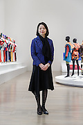 "Tokyo, April 28 2016 - portrait of Yayoi Motohashi, curator of the ""The work of Issey Miyake"" exhibition in National Art Center, Tokyo."