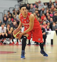 Bristol Flyers' Roy Owen - Photo mandatory by-line: Dougie Allward/JMP - Mobile: 07966 386802 - 10/01/2015 - SPORT - basketball - Bristol - SGS Wise Campus - Bristol Flyers v Leicester Riders - British Basketball League