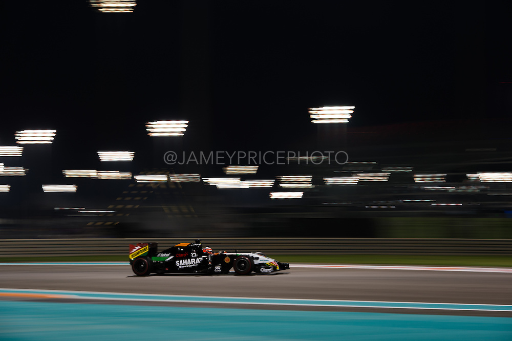 November 21-23, 2014 : Abu Dhabi Grand Prix. Nico Hulkenberg (GER), Force India-Mercedes