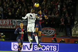 January 27, 2019 - Paris, Ile de France, France - Paris Saint Germain Midfield PRESNEL KIMPEMBE in action during the French championship League 1 Conforama match Paris Saint Germain against Rennes at the Parc des Princes Stadium in Paris - France..Paris SG won 4-1 (Credit Image: © Pierre Stevenin/ZUMA Wire)