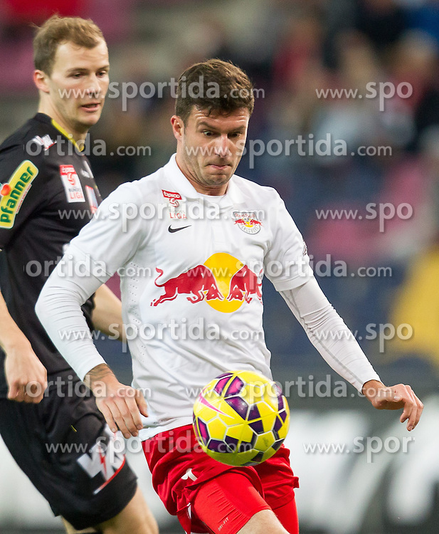 07.03.2015, Red Bull Arena, Salzburg, AUT, 1. FBL, FC Red Bull Salzburg vs SCR Cashpoint Altach, 24. Runde, im Bild Marco Djuricin (FC Red Bull Salzburg, #09) // during Austrian Football Bundesliga 24th round Match between FC Red Bull Salzburg and SCR Cashpoint Altach at the Red Bull Arena, Salzburg, Austria on 2015/03/07. EXPA Pictures © 2015, PhotoCredit: EXPA/ JFK
