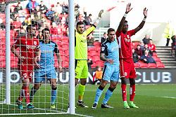 Tammy Abraham of Bristol City - Rogan Thomson/JMP - 04/02/2017 - FOOTBALL - Ashton Gate Stadium - Bristol, England - Bristol City v Rotherham United - Sky Bet Championship.