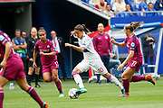 Dzsenifer Marozsan to OL during the UEFA Women's Champions League, semi final, 2nd leg football match between Olympique Lyonnais and Manchester City on April 29, 2018 at Groupama stadium in Décines-Charpieu near Lyon, France - Photo Romain Biard / Isports / ProSportsImages / DPPI