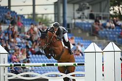 Alvarez Aznar Eduardo, (ESP), Rokfeller de Pleville Bois Margot<br /> Team Competition round 1 and Individual Competition round 1<br /> FEI European Championships - Aachen 2015<br /> © Hippo Foto - Stefan Lafrentz<br /> 19/08/15