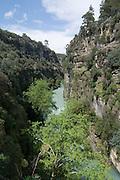 Turkey, Antalya, Koprulu River Canyon