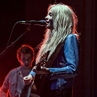 Scots singing sensation teenager Nina Nesbitt plays to a home crowd in Edinburgh's Usher Hall. (PLEASE DO NOT REMOVE THIS CAPTION)<br />