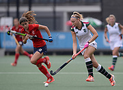Surbiton's Hannah Martin during their opening game of the EHCC 2017 at Den Bosch HC, The Netherlands, 2nd June 2017